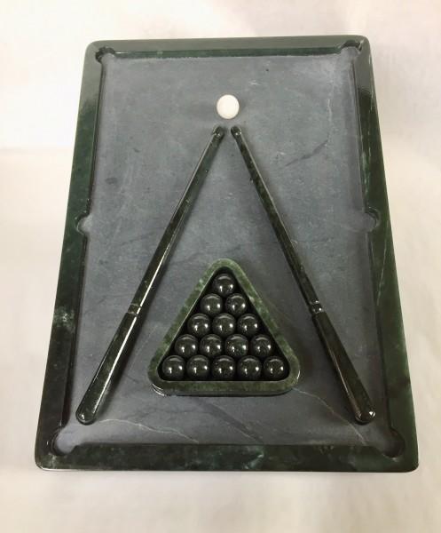 Billardtisch aus Edelserpentin
