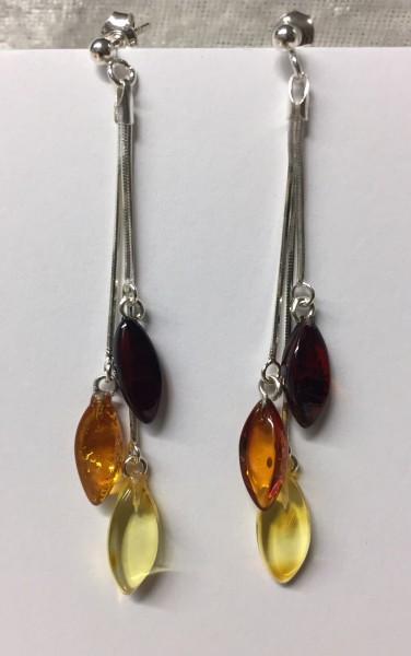 Ohrringe Naturbernstein