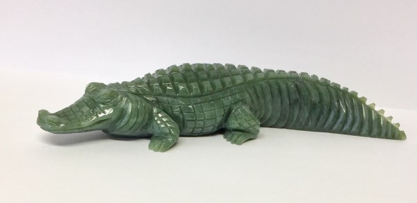 Krokodil Edelserpentin
