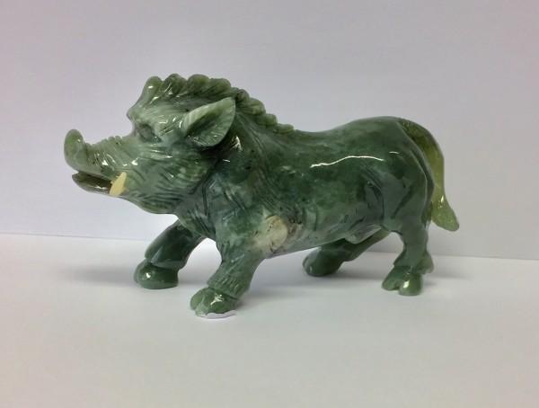 Wildschwein Edelserpentin