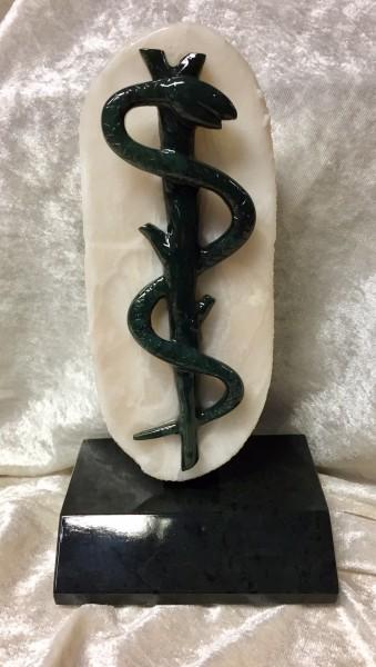Ärztezeichen Edelserpentin